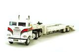Freightliner COE Tractor w/Ramp Trailer - HDT White