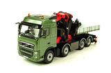 Volvo FH3 Globetrotter Tractor w/Fassi F1300 XP Crane