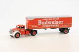 Diamond T 1948 2-Axle Day Cab Tractor w/Budweiser Box