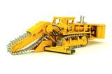 Caterpillar 850CV ROC Saw Trencher