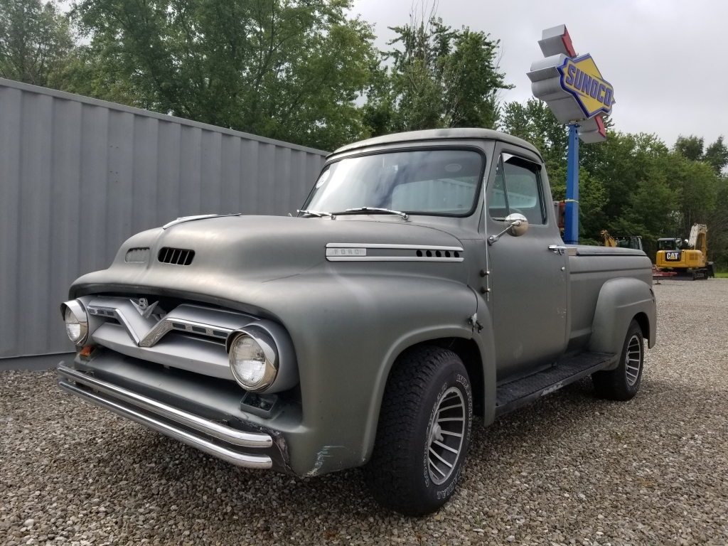 1955 Ford Short Bed Wiring Diagrams F100 Running Board Shortbed Truck Auctions Online Proxibid Rh Com 1966
