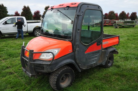 Kubota 1100, 4x4, full cab w/ air & heat, unit has been sitting for a long