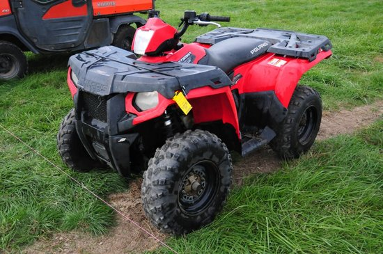 2012 Polaris Sportman 500 H.O 4-Wheeler w/ on demand AWD, 9XX hrs, 5,2XX miles