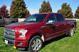 2016 Ford F150 Platinum 4X4 Super Crew, 6 spd. auto., 3.5 Ltr. V6, 6.5' bed