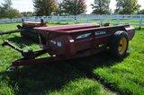 NH 145 single axle manure spreader