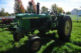 JD 3020, Wide Front, gas, dual outlets, showing 2,9XX hours