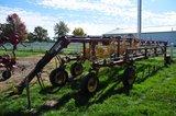 NH HT154 16-wheel hydraulic fold hay rake