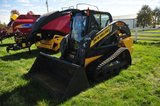 NH 200 Series C 238 Track Skid loader, cab with air & heat, 3XX Actual Hrs.
