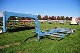 Golden Bell Gooseneck 6-bale trailer w/ single axle