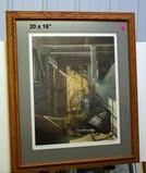 Charles L. Peterson Print - Framed