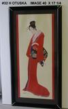 Hishashi Otsuka: Lady in Red
