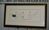 Joan Miro: Les Penalties De L'enfer Oules Nouvelles Hebrides, Plate 15