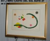 Joan Miro: Cantic del Sol Suite, 27