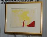 Joan Miro: Cantic del Sol Suite, 23