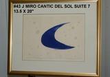 Joan Miro: Cantic del Sol Suite, 7