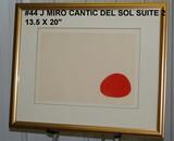 Joan Miro: Cantic del Sol Suite, 2, Moon