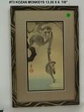Kozan Monkey Print