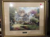 Thomas Kinkade Print: Home Is Where The Heart Is II