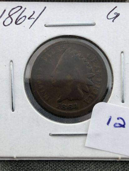 1864 Indian cent G4