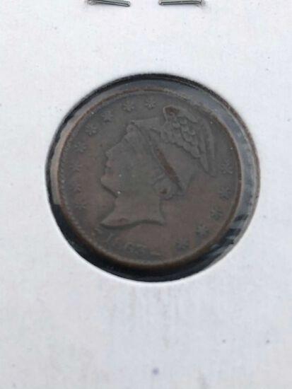 1863 Civil War Token Fuld:535C-2a rarity 2