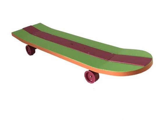 The Simpsons Inspired Skateboard From Trevor Johnson's Birthday Party