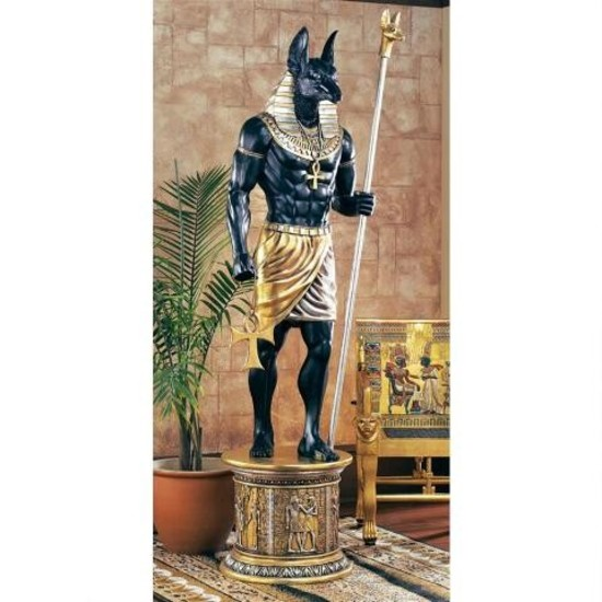 Egyptian Statue From King Tut Exhibition Premiere Event