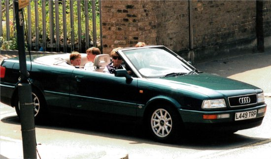 1994 Audi Cabriolet - Formerly the Personal Conveyance of Diana, Princess of Wales