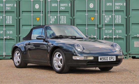 1995 Porsche 911 (993) C2 Cabriolet Tiptronic