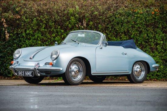 1962 Porsche 356B 'Super 90' Cabriolet