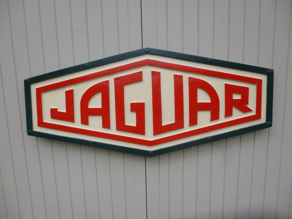 Classic Jaguar sign.