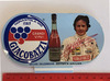 1982 signed Gilles Villeneuve Giacobazzi sticker