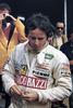 1982 signed Gilles Villeneuve Giacobazzi postcard