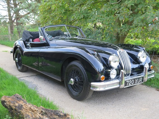 1955 Jaguar XK140 MC Drophead Coupé