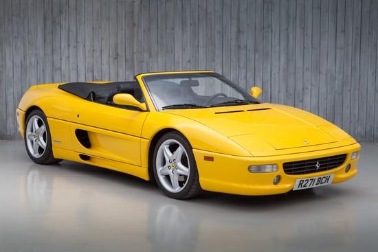 1998 Ferrari F355 Spider (manual)
