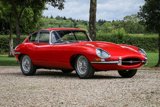 1965 Jaguar E-Type Series 1 4.2 FHC Ex-Sir John Whitmore