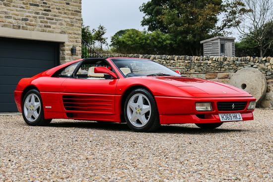1991 Ferrari 348TS Manual