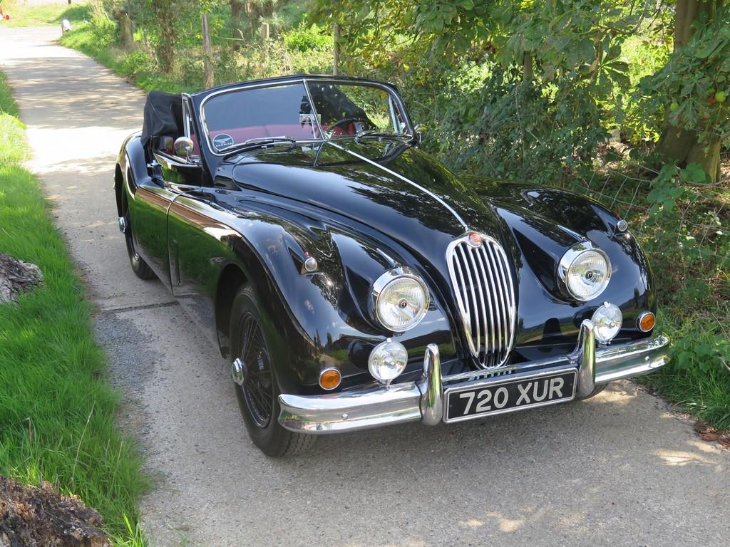 Nouvelle Jaguar XK120 XK140 XK150 Ignition Lead Set Made in England O.E.