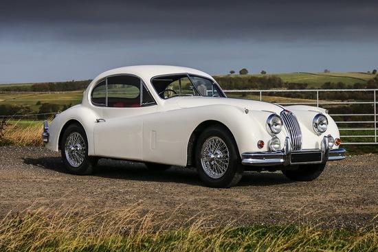 1955 Jaguar XK140 FHC