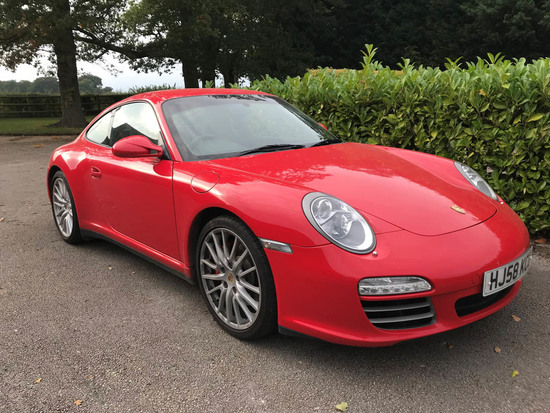 2008 Porsche 911 (997) Carrera 4S Coupe Gen 2