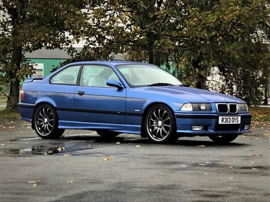 1998 BMW E36 M3 Evolution Hartge 3.5