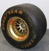 Wheel and Tyre from Jean Alesi's Ferrari.