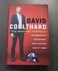 Two David Coulthard signed books.