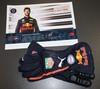 Daniel Ricciardo signed gloves.