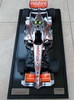 Amalgam McLaren-Mercedes MP4-22A scale model.
