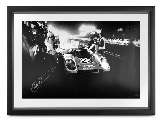 Le Mans 1970, signed Richard Attwood