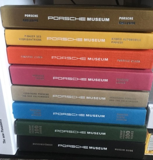 Official Porsche Museum collectors publications