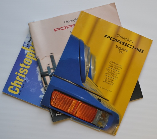 Collection of 1990's Porsche Christophorus magazines