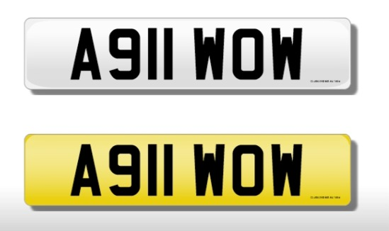Registration Mark,  A911 WOW