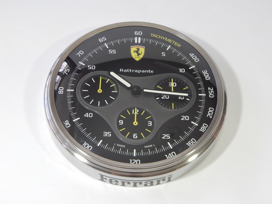 Ferrari Panerai California Clock.