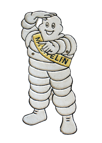 Michelin Man cast iron Figure'